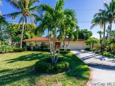 Sanibel FL Single Family Home For Sale: $998,000