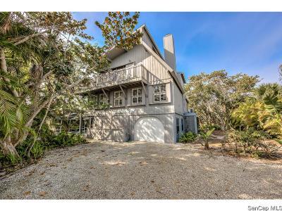 Sanibel FL Single Family Home For Sale: $599,000