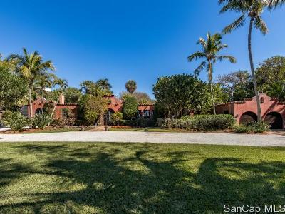 Captiva Single Family Home For Sale: 15819 Captiva Dr