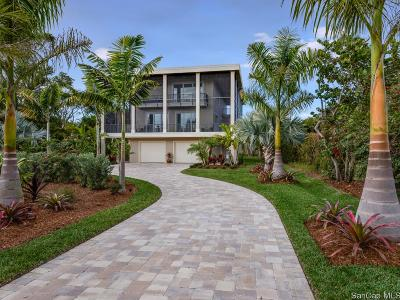 Sanibel Single Family Home For Sale: 4014 W Gulf Dr