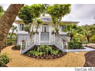 Sanibel FL Single Family Home For Sale: $975,000