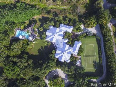 Sanibel FL Single Family Home For Sale: $3,495,000