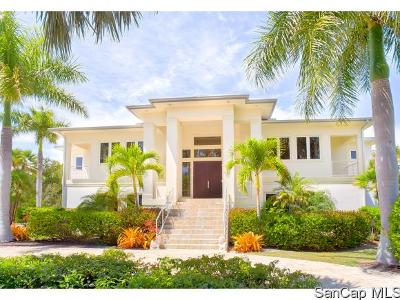 Sanibel Single Family Home For Sale: 3009 Turtle Gait Lane