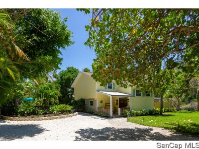 Sanibel FL Single Family Home For Sale: $679,000