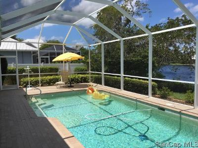 Fort Myers Single Family Home For Sale: 12400 McGregor Palms Dr