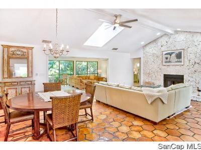 Sanibel Single Family Home For Sale: 5303 Umbrella Pool Road