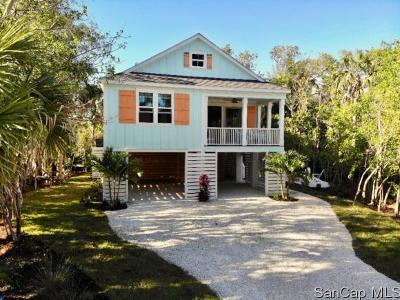Sanibel Single Family Home For Sale: 1550 Centre St