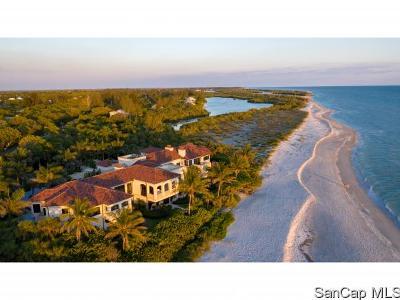 Sanibel FL Single Family Home For Sale: $16,895,000