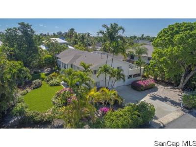 Sanibel FL Single Family Home For Sale: $1,030,000