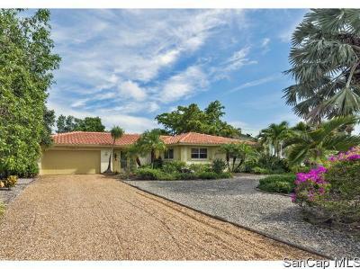 Sanibel, Captiva Single Family Home For Sale: 556 Chert Ct
