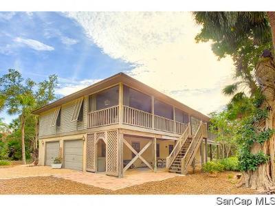 Sanibel Single Family Home For Sale: 6065 Dinkins Lake Road