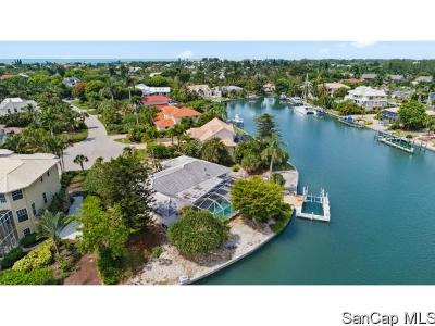 Sanibel FL Single Family Home For Sale: $1,590,000