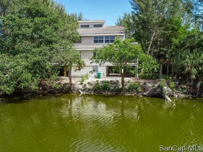 Sanibel Single Family Home For Sale: 1390 Middle Gulf Dr