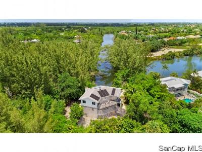 Sanibel Single Family Home For Sale: 1740 Middle Gulf Dr