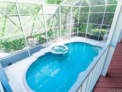 Sanibel Single Family Home For Sale: 1807 Serenity Ln