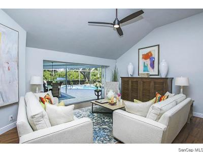 Sanibel FL Single Family Home For Sale: $839,000