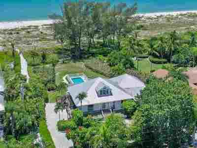 Sanibel FL Single Family Home For Sale: $3,595,000