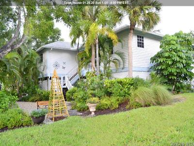 Sanibel Single Family Home For Sale: 1536 Bunting Ln