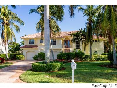 Sanibel FL Single Family Home For Sale: $1,189,000