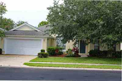 St Augustine FL Single Family Home For Sale: $365,000
