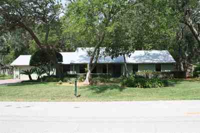 St Augustine Beach Single Family Home For Sale: 118 Mickler