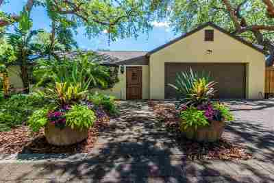 St Augustine FL Single Family Home For Sale: $449,900
