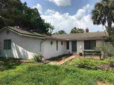 Single Family Home For Sale: 308 Flagler