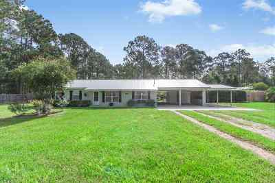 St Augustine Single Family Home For Sale: 2340 Deerwood Acres Dr