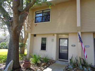 St Augustine Beach Townhouse For Sale: 335 Monika