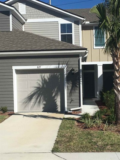 Townhouse For Sale: 827 Servia Drive