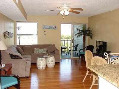 Vilano Beach, Villages Of Vilano Condo For Sale: 110 Ocean Hollow Ln #107