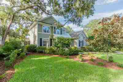 St Augustine Beach Single Family Home For Sale: 713 Ocean Gate Ln.