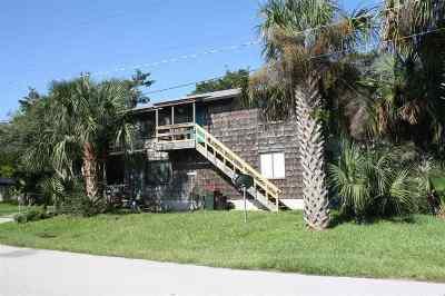 St Augustine Beach FL Multi Family Home For Sale: $329,900