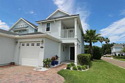 St Augustine Beach Townhouse For Sale: 135 Islander Drive