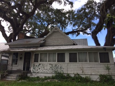 St Augustine FL Single Family Home For Sale: $135,000