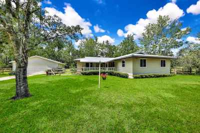 St Augustine Single Family Home For Sale: 2460 Deerwood Acres Dr