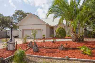 St Augustine Beach Single Family Home For Sale: 365 Seabreeze Ave
