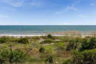 St Augustine Beach Condo For Sale: 20 Dondanville Rd #202