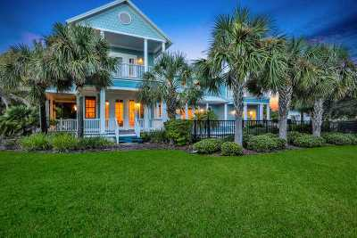 St Augustine Beach Single Family Home For Sale: 757 Ocean Palm Way