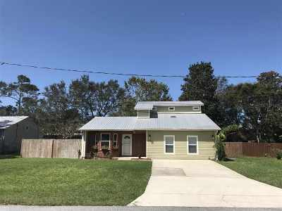 St Augustine Single Family Home For Sale: 3561 Carmel Road
