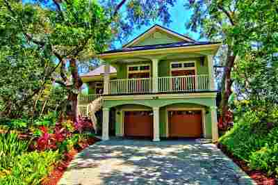 St Augustine Beach Single Family Home For Sale: 308 Ocean Forest Drive