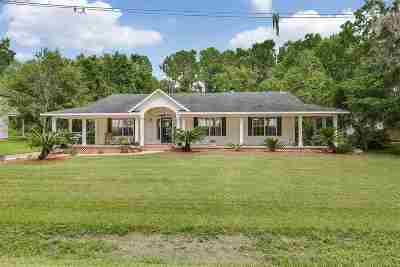 St Augustine Single Family Home For Sale: 732 County Road 13 South