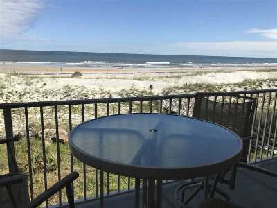 St Augustine Beach Condo For Sale: 1 10th Street #201