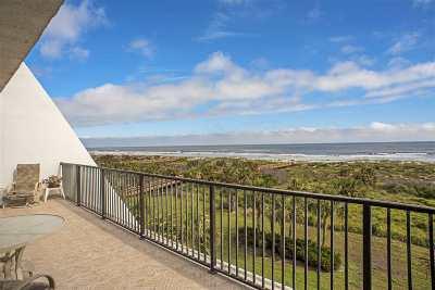 St Augustine Beach Condo For Sale: 20 Dondanville Road #401 #401