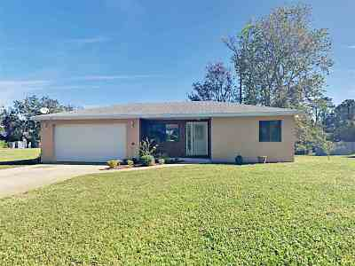 St Augustine FL Single Family Home Contingent: $230,000