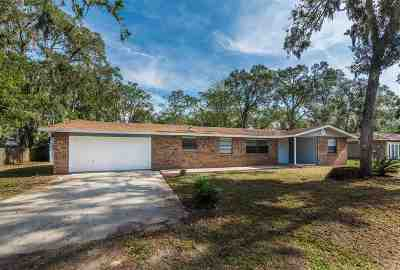St Augustine Single Family Home For Sale: 225 Mimosa Rd