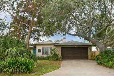 St Augustine Beach Single Family Home For Sale: 1 Deanna Dr