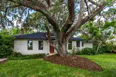 St Augustine FL Single Family Home For Sale: $799,000