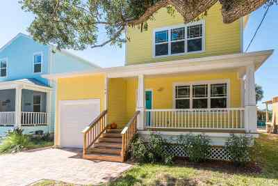 St Augustine Single Family Home For Sale: 144 Twine Street
