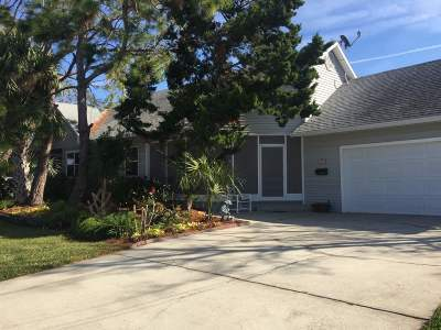 Davis Shores Single Family Home For Sale: S 100 Matanzas Blvd